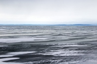 A view of Canada on the other side of Lake Superior