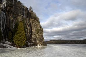Some of the beautiful scenery at Diamond Lake