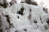 My second ice lead © Jordi Lucero