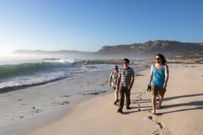 Jess, Vince and Caleb at Olifantsbos Beach