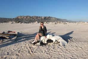 Me and the whale skull