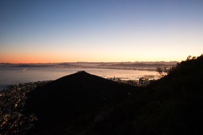 Sunrise from Lion's Head