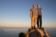 Jordi and I on Lion's Head