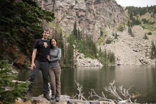Andrew & Amy at Ypsilon Lake
