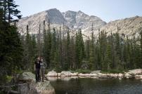 Andrew & Amy at Chipmunk Lake