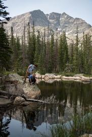 Vince & me at Chipmunk Lake