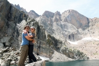 Me and Vince at Chasm Lake