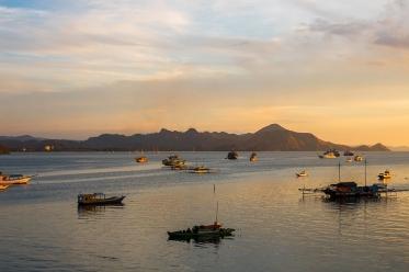 Sunset in Labuan Bajo