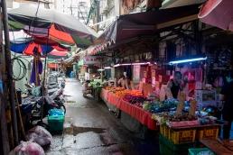 A market in Taipei