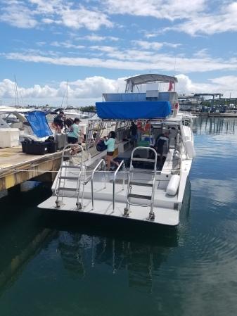 The Sea Ventures dive boat