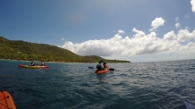 Kayaking near Playa Tamarindo