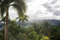 The view from the Fajardo Inn