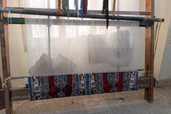 Egyptian rug factory