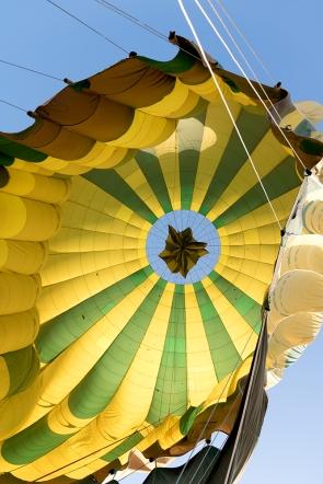 Our balloon deflating