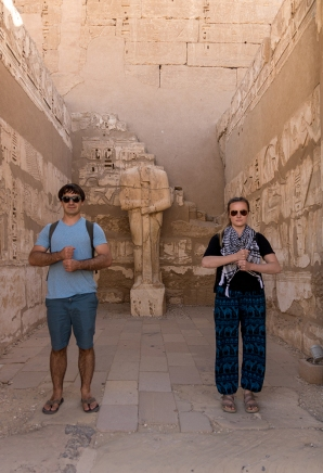 Vince and Me in Habu Temple