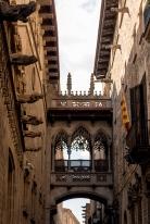 The Bishop's Bridge in Barcelona's Gothic Quarter
