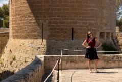 Me at Castell de Bellver