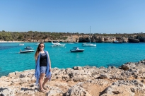 Me at Cala Varques