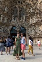 Me and Courtney at La Sagrada Família