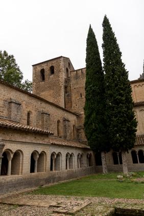The abbey at Saint-Guilhem-le-Désert