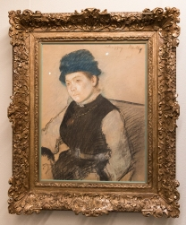 """Unhappy Nelly"" by Edgar Degas"